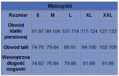 Tabela Smartwool