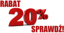Rabat 20% dla każdego!