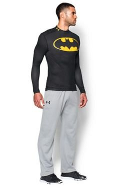 Bluza UNDER ARMOUR COLDGEAR ALTER EGO BATMAN COMPRESSION MOCK