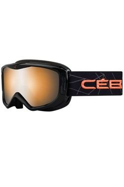 CEBE LEGEND M Black Coral Orange Flash Mirror