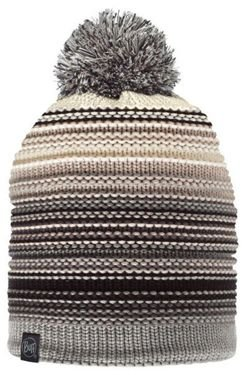 Czapka BUFF KNITTED & POLAR NEPER Grey + Komin NECKWARMER BUFF KNITTED POLAR NEPER