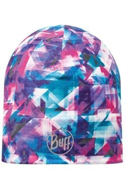 Czapka dwustronna z Microfibry R-FLECTED Turquoise - Magenta + Chusta Original BUFF FLECTED