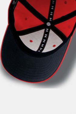 Czapka z daszkiem UNDER ARMOUR HEATGEAR BOY'S HEADLINE STRETCH FIT CAP