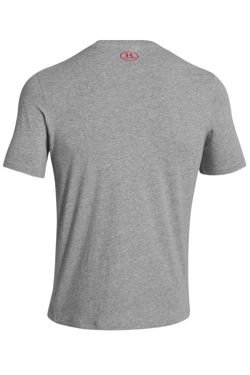 Koszulka UNDER ARMOUR CHARGED COTTON SPORTSTYLE LEFT CHEST LOGO T