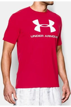 Koszulka UNDER ARMOUR HEATGEAR CHARGED COTTON SPORTSTYLE LOGO T