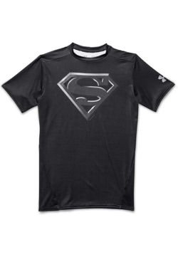 Koszulka UNDER ARMOUR HEATGEAR MEN'S ALTER EGO COMPRESSION SUPERMAN