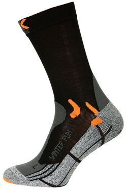 Skarpety do biegania X-SOCKS WINTER RUN SILVER
