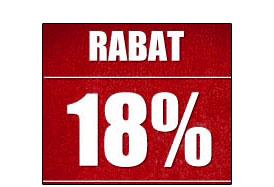 Rabat 18% dla każdego!