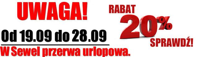 Przerwa w Sewel.pl