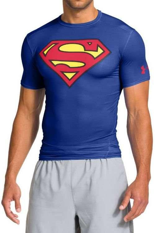 f216b74a4 Koszulka UNDER ARMOUR HEATGEAR ALTER EGO COMPRESSION SUPERMAN 15194 ...