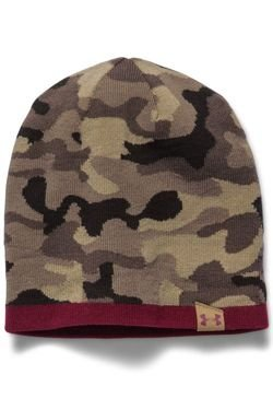 Czapka UNDER ARMOUR COLDGEAR MEN'S UA 2-WAY CAMO BEANIE