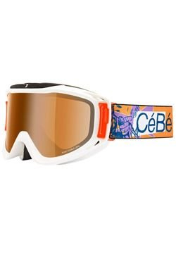 Gogle CEBE LEGEND Orange Flash Mirror
