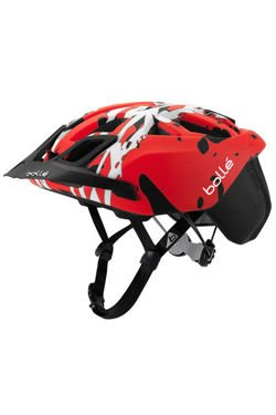 Kask rowerowy BOLLE THE ONE ROAD MTB Black&Red